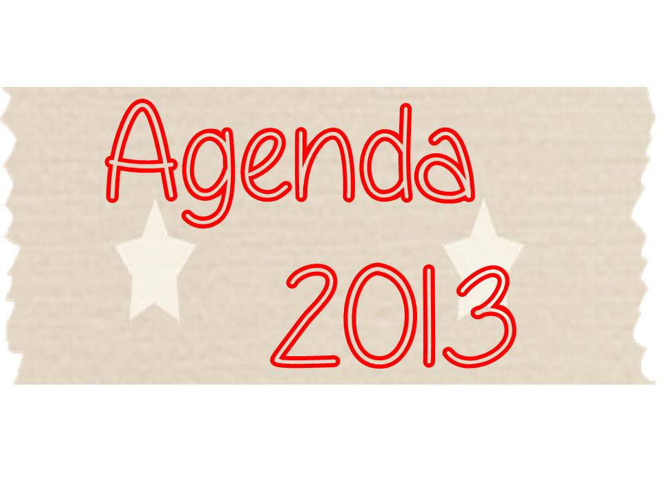word 2013 agenda